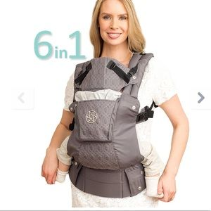 lillebaby 🍁🍂Embossed Baby Carrier pewter Gray